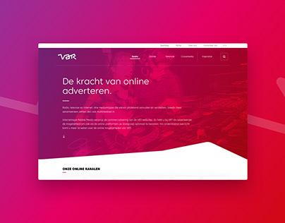 VAR.be - UX/UI Design