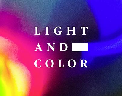 Licht und Farbe   Light and Color