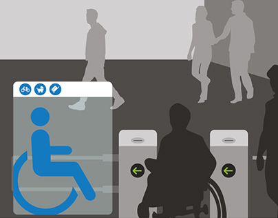 Happy Wheels -wheelchair friendly subway stations