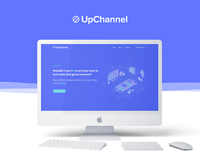 UpChannel Website Design