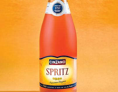 Product Photography - Spritz Cinzano