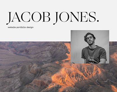 JACOB JONES - Portfolio Web Design