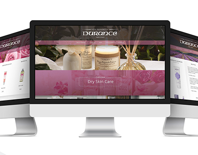 The site for the French cosmetic company