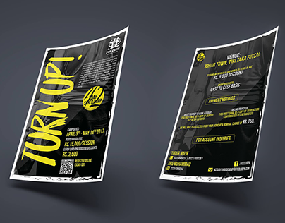 Fit Club - Flyer Design