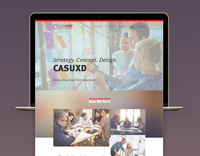 CASUXD webdesign concept