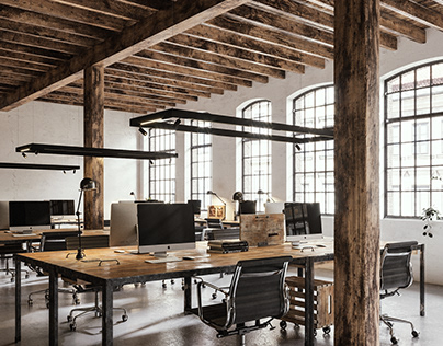 Loft office space