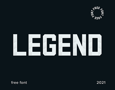 LEGEND - Free Font