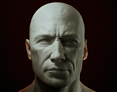 Head Sculpt for a W.I.P Chracter v6