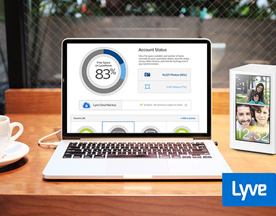 Lyve: Photo Management Dashboard