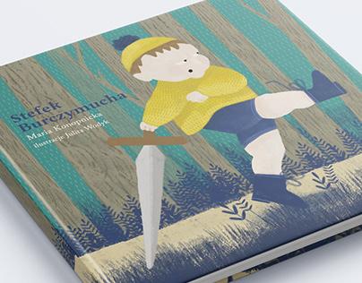 """Książka z wierszem dla dzieci """"Stefek Burczymucha"""""""