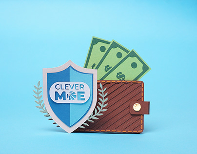 Paper craft project for Clever Moe webinars series.