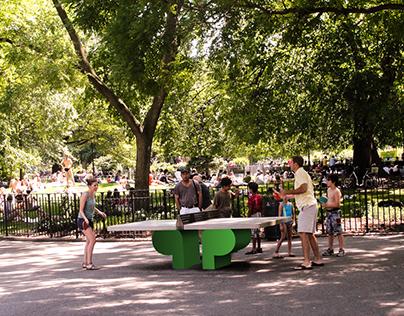 Tompkins Square Park - Branding