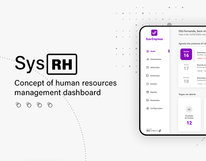 SysRH - Dashboard for Human Resources management