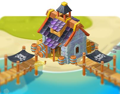 Pirat Buildings