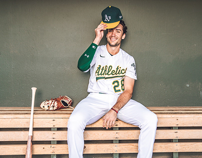 2020 OAKLAND ATHLETICS CASUAL PORTRAITS
