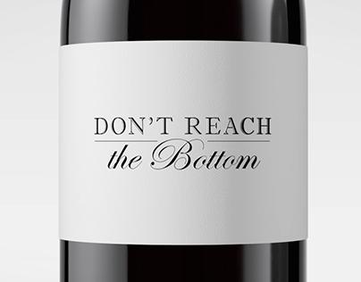 Don't reach the bottom