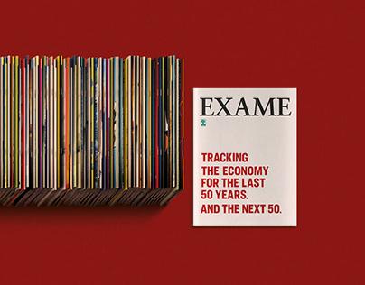 Exame Magazine 50th Anniversary Campaign