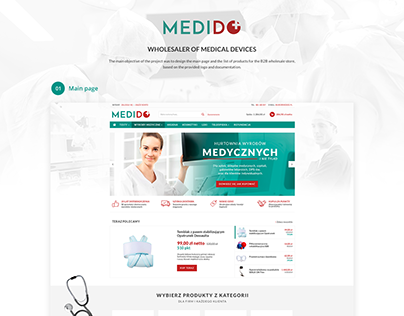 MEDIDO - wholesaler of medical devices