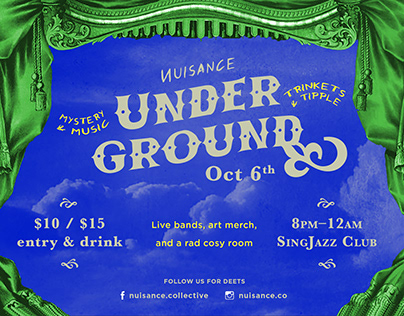 ИUISANCE UNDERGROUND Oct 6th