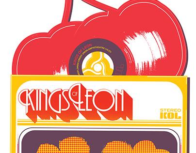Kings of Leon VIP Poster - Tampa 2017