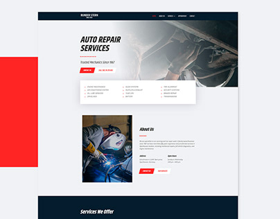 Auto Mechanic Website