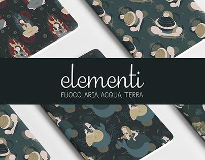 ELEMENTI | Pattern Design