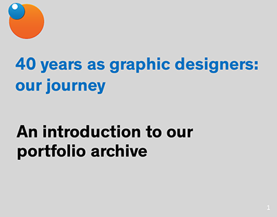 An introduction to our portfolio archive