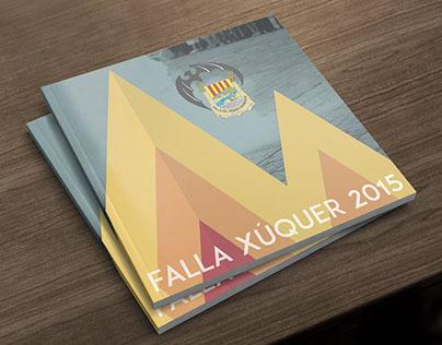 Llibret Falla Xúquer 2015