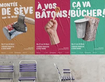 Conception-rédaction - Cabane Panache et bois rond 2019