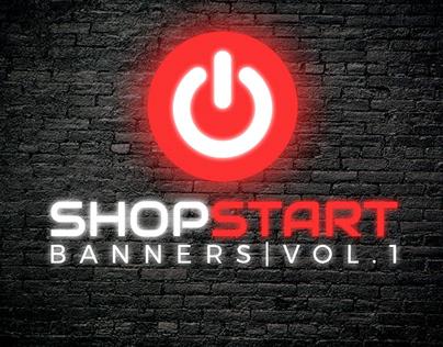 Shopstart banners Vol. 1 | Shopstart bannerek Vol. 1