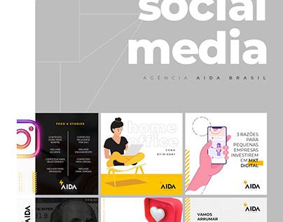Agência Aida Brasil Social Media