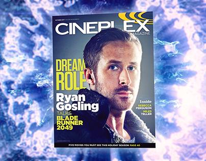 Cineplex Magazine Promos   2016 & 2017