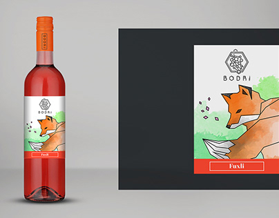 Wine Label and Logo Redesign Concept