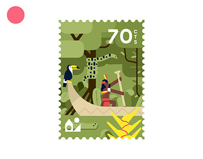 CANOE - Stamps