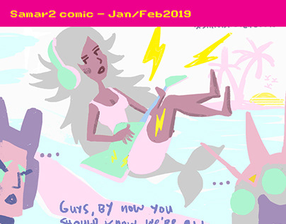 Samar2 comic Feb-March2019