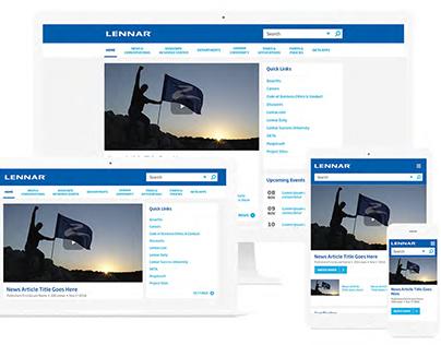 Lennar Sharepoint Design
