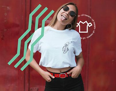 Lô Tshirts - Visual Identity