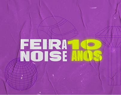 Feira Noise 10 Anos - Branding