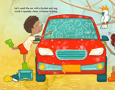 """""""Bigger than a drop"""" illustration 2"""