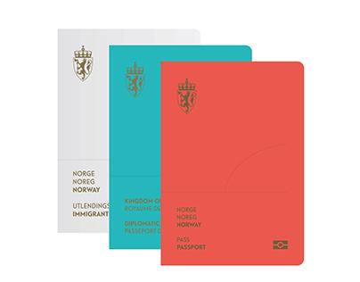 Norwegian Passports (Winning concept 2014)