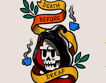 No decaf here