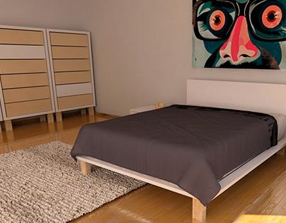 Renders for ZT (furniture design)