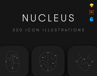Nucleus Icon Set (+Free Version)