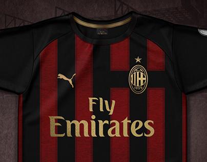 AC Milan / Football Shirt Concept Design
