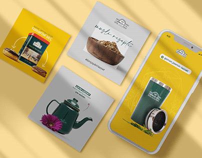 Ahmad Tea   Social Media 2020
