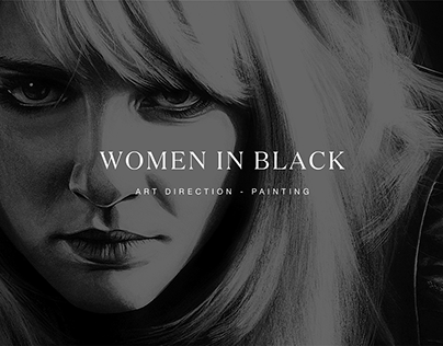 Women In Black | Painting