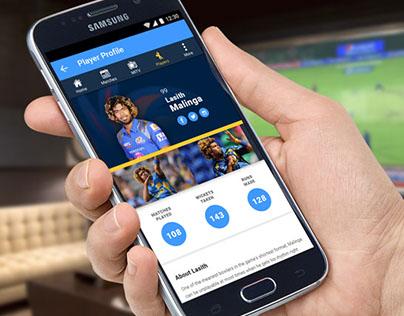 Mumbai Indians Cricket Club Website & Native App Design