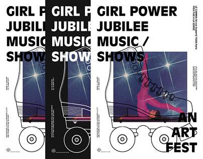 Girl Power Fest 2017 | Art direction