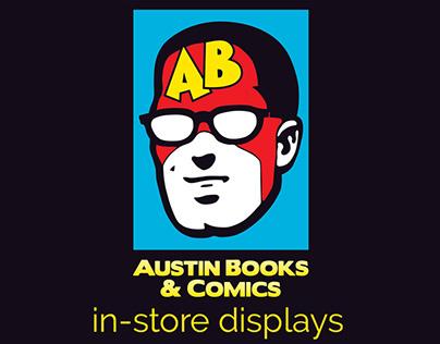 Austin Books & Comics In-Store Displays