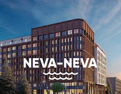 Business class residential complex Neva-Neva